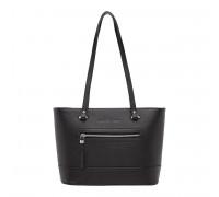 Кожаная женская сумка Page Black
