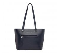 Кожаная женская сумка Page Dark Blue