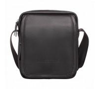 Кожаная сумка через плечо Parker Black