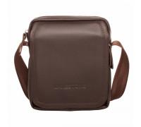 Кожаная сумка через плечо Parker Brown в магазине Galantmaster.ru фото