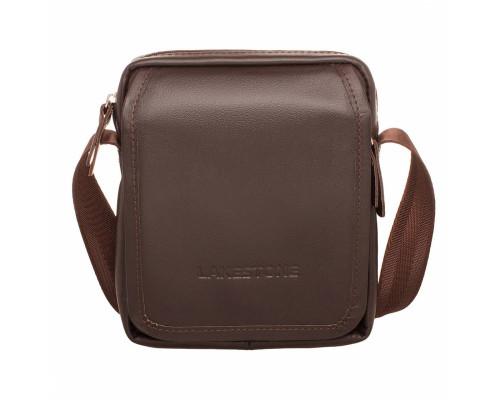Кожаная сумка через плечо Parker Brown
