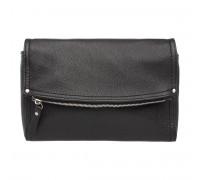 Женская кожаная сумка кросс-боди  Ripley Black
