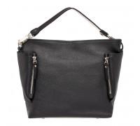 Кожаная сумка через плечо Sabrina Black