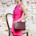 Кожаная сумка через плечо Taylor Burgundy 988788/BGD