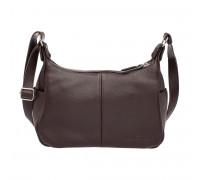 Кожаная сумка через плечо Tracey Brown в магазине Galantmaster.ru фото