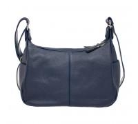 Кожаная сумка через плечо Tracey Dark Blue