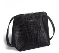 Оригинальная сумочка через плечо BRIALDI Torre (Торре) croco black в магазине Galantmaster.ru фото