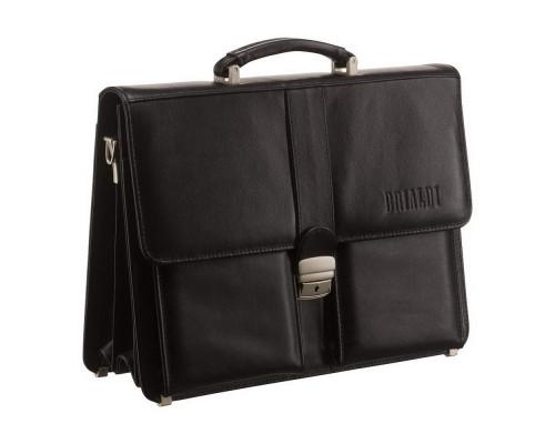 Классический портфель BRIALDI Asti (Асти) black