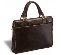 Деловая сумка SLIM-формата BRIALDI Ostin (Остин) brown в магазине Galantmaster.ru фото