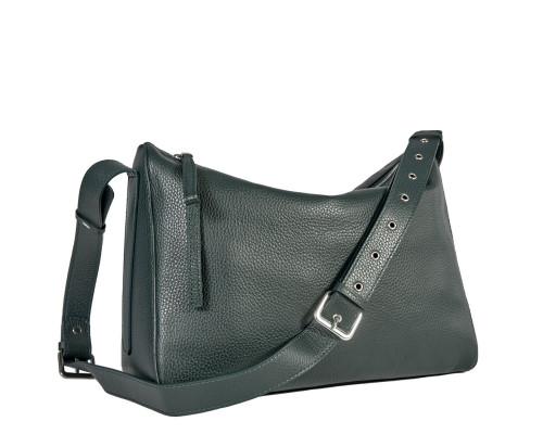 Вместительная женская сумка BRIALDI Fiona (Фиона) relief green