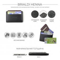 Документница BRIALDI Henna (Энна) relief black