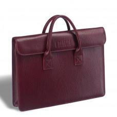 Женская деловая сумка BRIALDI Vigo (Виго) relief cherry в магазине Galantmaster.ru фото