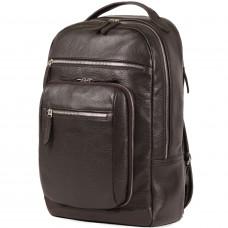 Деловой рюкзак BRIALDI Explorer (Эксплорер) relief brown в магазине Galantmaster.ru фото