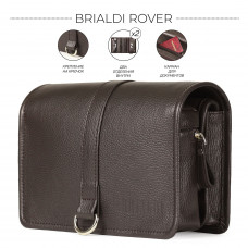 Дорожный несессер BRIALDI Rover (Ровер) relief brown