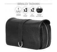 Дорожный несессер BRIALDI Tasman (Тасман) relief black