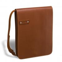 Кожаная сумка через плечо BRIALDI Kansas (Канзас) red
