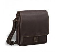 Кожаная сумка через плечо BRIALDI Lucca (Лукка) brown BR01657VO
