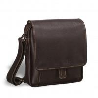 Кожаная сумка через плечо BRIALDI Lucca (Лукка) brown