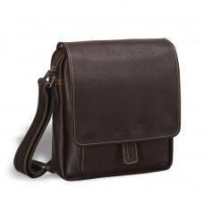 Кожаная сумка через плечо BRIALDI Lucca (Лукка) brown в магазине Galantmaster.ru фото