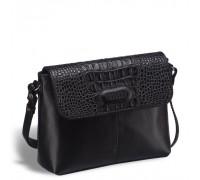 Женская сумочка через плечо BRIALDI Cristo (Кристо) black в магазине Galantmaster.ru фото