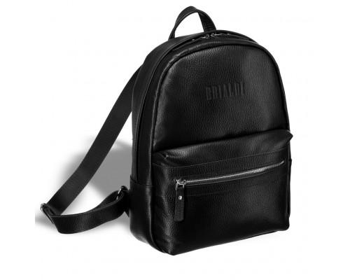Женский стильный рюкзак BRIALDI Leonora (Леонора) relief black