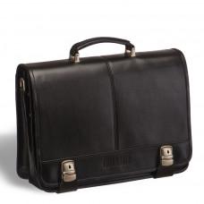Классический деловой портфель BRIALDI Cortes (Кортес) black в магазине Galantmaster.ru фото