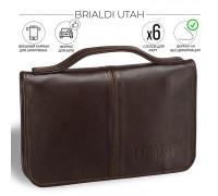Мужской клатч BRIALDI Utah (Юта) brown