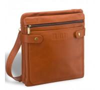 Кожаная сумка через плечо BRIALDI Nevada (Невада) whiskey