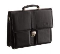 Классический портфель BRIALDI Bari (Бари) black в магазине Galantmaster.ru фото