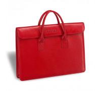 Женская деловая сумка BRIALDI Vigo (Виго) relief red