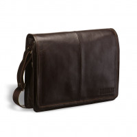Кожаная сумка через плечо BRIALDI Ancona (Анкона) brown