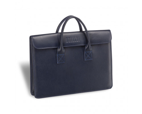 Женская деловая сумка BRIALDI Vigo (Виго) navy