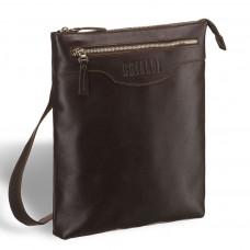 Кожаная сумка через плечо BRIALDI Grado (Градо) brown в магазине Galantmaster.ru фото