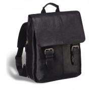 Мужской рюкзак BRIALDI Broome (Брум) relief black в магазине Galantmaster.ru фото