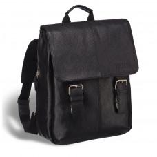 Практичный мужской рюкзак BRIALDI Broome (Брум) relief black