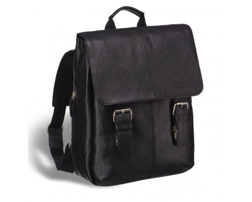 Мужской рюкзак BRIALDI Broome (Брум) relief black