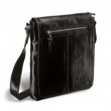 Кожаная сумка через плечо BRIALDI Livorno (Ливорно) shiny black в магазине Galantmaster.ru фото