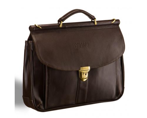 Классический портфель BRIALDI Bergamo (Бергамо) brown
