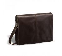 Кожаная сумка через плечо BRIALDI Chelsea (Челси) brown BR02968MV