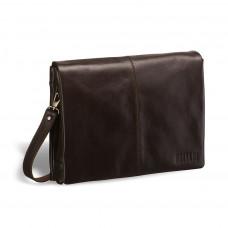 Кожаная сумка через плечо BRIALDI Chelsea (Челси) brown в магазине Galantmaster.ru фото