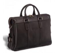 Мужская сумка для документов BRIALDI Bard (Бард) relief brown