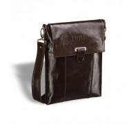 Кожаная сумка через плечо BRIALDI Toronto (Торонто) shiny brown в магазине Galantmaster.ru фото