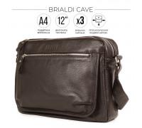 Сумка через плечо BRIALDI Cave (Каве) relief brown