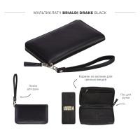 Мультиклатч 2-В-1 BRIALDI Drake (Дрейк) black