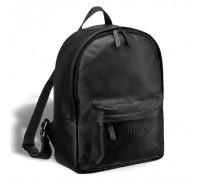 Мужской кожаный рюкзак BRIALDI Pico (Пико) relief black в магазине Galantmaster.ru фото