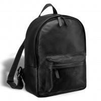 Мужской кожаный рюкзак BRIALDI Pico (Пико) relief black