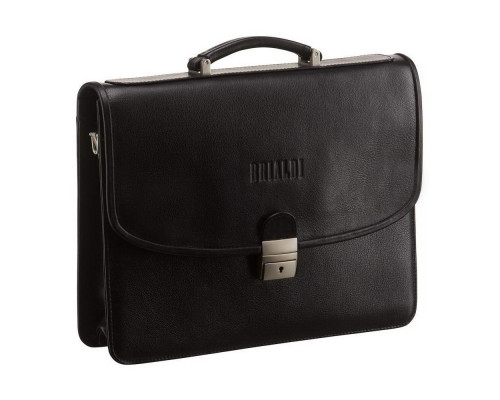 Классический портфель BRIALDI Monopoli (Монополи) black