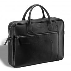 Деловая сумка для документов BRIALDI Rochester (Рочестер) relief black