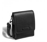 Кожаная сумка через плечо BRIALDI Grand Cleveland (Гранд Кливленд) relief black в магазине Galantmaster.ru фото