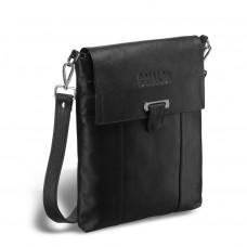 Кожаная сумка через плечо BRIALDI Toronto (Торонто) black в магазине Galantmaster.ru фото